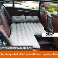 Car Inflatable Bed 7set Portable RV Bed Pads Inflatable Car Air Mattress Car Child Rear Exhaust Pad Car Rear Seat Sleeping Pad