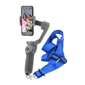 Image 2 - Adjustable Lanyard Sling Neck Strap for DJI OM 4 OSMO Mobile 2 Zhiyun Smooth 4 Mijia Feiyu Handheld Gimbal Stabilizer Mount Kits