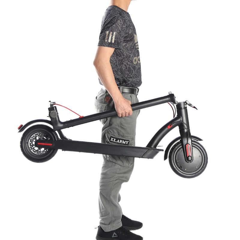 Europa Stock 8.5 pollici Off-road E-scooter 30km/h Ad Alta Velocità Longboard Hoverboard Skateboard Scooter Elettrico per per gli adulti
