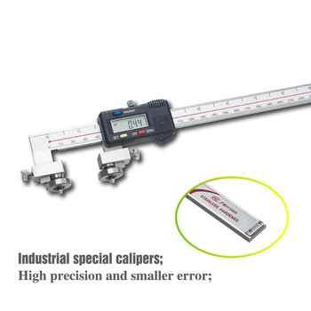 Non-Standard Center Distance Digital Caliper Precision Measuring Tools Tapered Head Oil Seal Groove Caliper 20-300MM