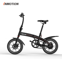 INMOTION P3 EBIKE Folding Bike Mini Bicycle Electric Scooter Lithium ion Battery 250W CE RoHS FCC
