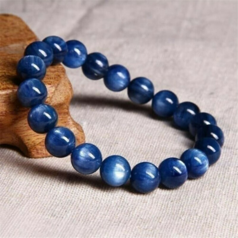 6/8/10/12mm Gorgeous Blue Tiger Eye Bracelets for Men Women Natural Tiger Eye Stone Beads Bracelet Buddha Bracelets Unisex