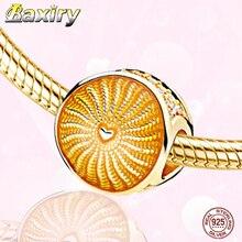 100% Real 925 Sterling Silver Charm Bracelet DIY Beads Fit Bracelet Nuevos 2019 Charms Silver 925 Original Beads Jewelry Making
