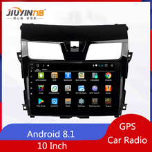 JIUYIN Android 8.1 Car Radio GPS For Nissan Teana Altima Navigation DVD 2013 2014 2015 Multimedia Player
