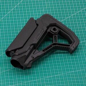 Image 5 - 戦術的なナイロン調節可能な拡張在庫空気銃 cs スポーツペイントボールエアガン BD556 M4 jinming ゲルブラスター受信機ギアボックス