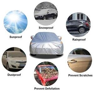 Image 2 - Kayme Водонепроницаемый Полное покрытие автомобиля защиты от солнца для Toyota Corolla Avensis RAV4 Auris Yaris Camry Prius Hilu