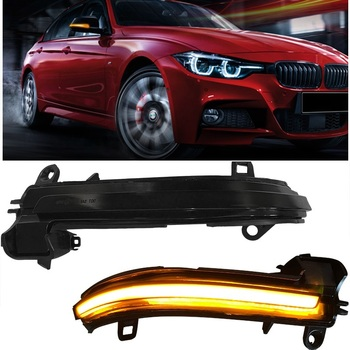 HIGH BRIGHT EXTERIOR AUTO ACCESSORIES REAR MIRROR COVER LED LIGHTS LAMP LED TURN SIGNAL LIGHTS FIT FOR 3 SERIES 1 4 2 SERIES X1
