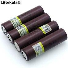 Литий ионная батарея Liitokala 18650 HG2, 3000 мАч, 3,6 В, непрерывная разгрузка 20 А, выделенная электронная батарея, 2020