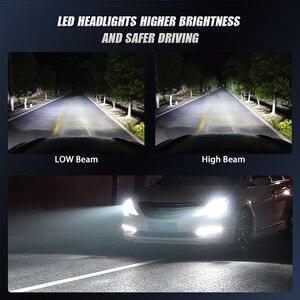 Image 4 - רכב פנס הנורה LED H7 H1 H3 H4 H11 H8 H9 H27 880 881 ערפל אור 12V 24V 10000LM מנורת 3000K 6500K 10000K Hb4 Hb3 9005 9006