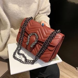 Image 4 - 高級ハンドバッグの女性のバッグデザイナーハンドバッグ高品質 2019 嚢主な新puレザークロスボディメッセンジャーバッグ女性のための
