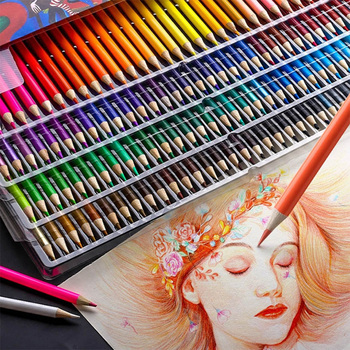 'The Best' 48/72/120/160 Colors Colored Pencils Set for Drawing Sketch Painting Student School Art Gifts 889