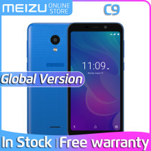 Global version official Meizu C9 4G LTE 2GB 16GB 5.45″ 1440x720p IPS Screen Quad Core 13.0MP Camera Dual Sim Card Mobile Phone