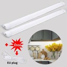 Full Set T5 T8 Tube LED Under Cabinet Kitchen Light Bedroom Wardrobe Closet Night Lights 30/60CM leds Bar Light Cocina Home Lamp