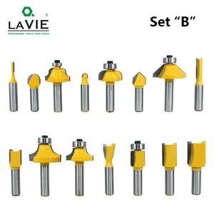 Image 5 - LAVIE jeu de mèches de toupie, en carbure de tungstène, pour le bois, 8mm, 15 pièces, MC02006