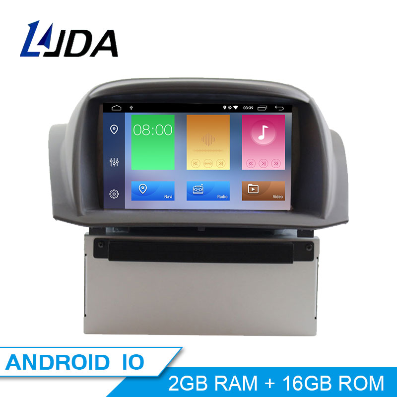 JDASTON Android 10 Car DVD Player For <font><b>Ford</b></font> <font><b>Fiesta</b></font> 2008 2009 2010 2011 2012 2013 2014 2015 Multimedia <font><b>GPS</b></font> Stereo 2 Din Car Radio image