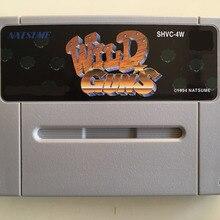 game cards : WILD GUNS ( Japanese NTSC Version!! )