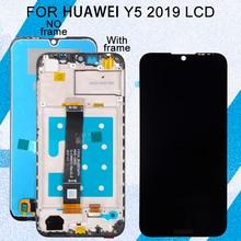 Catteny 5.71 inç Huawei Y5 2019 Lcd dokunmatik Panel cam ekran Digitizer meclisi onur 8S ekran çerçeve ile