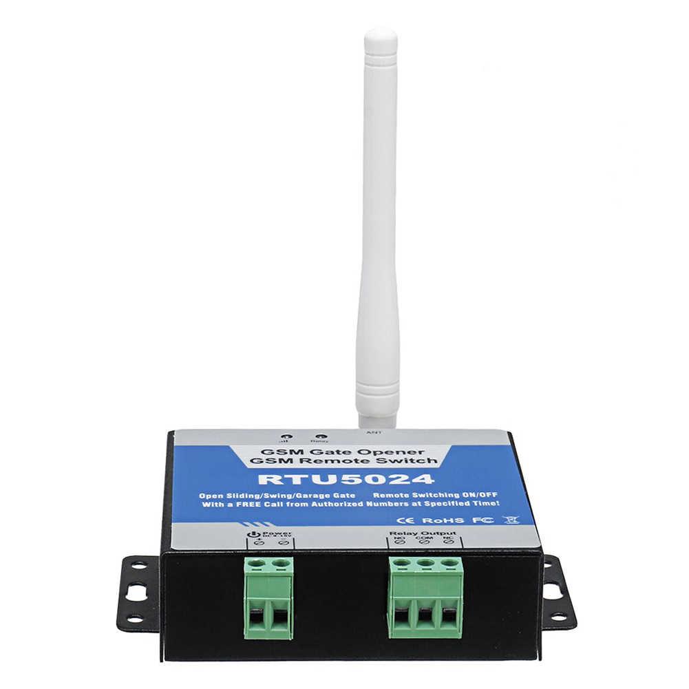 RTU5024 GSM ouvre-porte relais commutateur télécommande porte accès sans fil ouvre-porte appel gratuit 850/900/1800/1900MHz