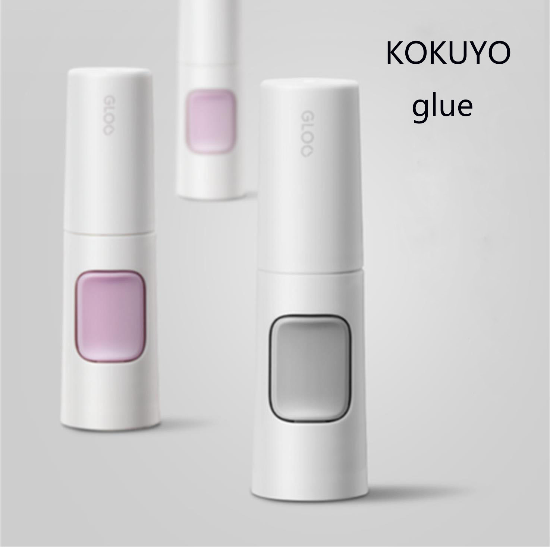 TUNACOCO 2pcs JAPAN KOKUYO Environmental Protection  Glue DIY Tools Sticky Glue Pens Office Supplies Qt1710140