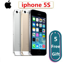 For Apple iPhone 5S Original Cell Phones Dual Core 4″ IPS Used Phone 8MP 1080P Smartphone GPS IOS iPhone5s Unlocked Mobile Phone
