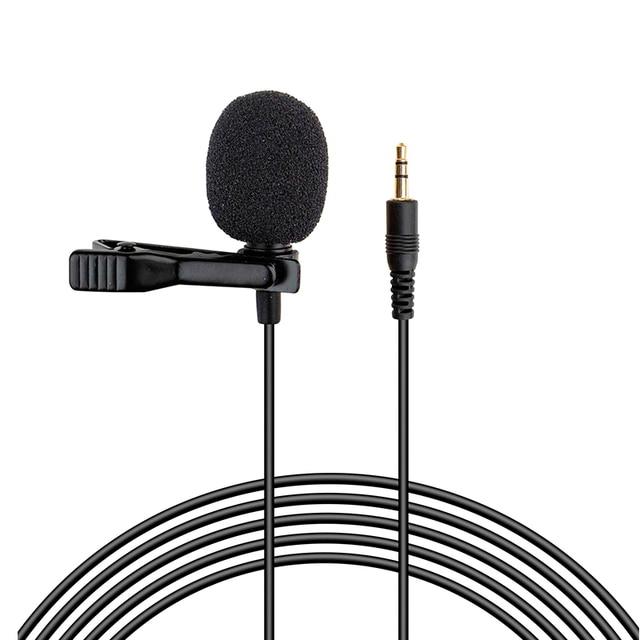 Micro Lavalier Mini enregistrement micro collier pince micro entretien enregistrement micro pince micro pour enregistreur vocal