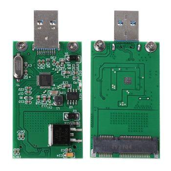 MSATA SSD to USB 3.0 Adapter Card ASM1153E High Speed Mobile U Disk Converter kingshare ks amast2 msata to sata 3 converter adapter card