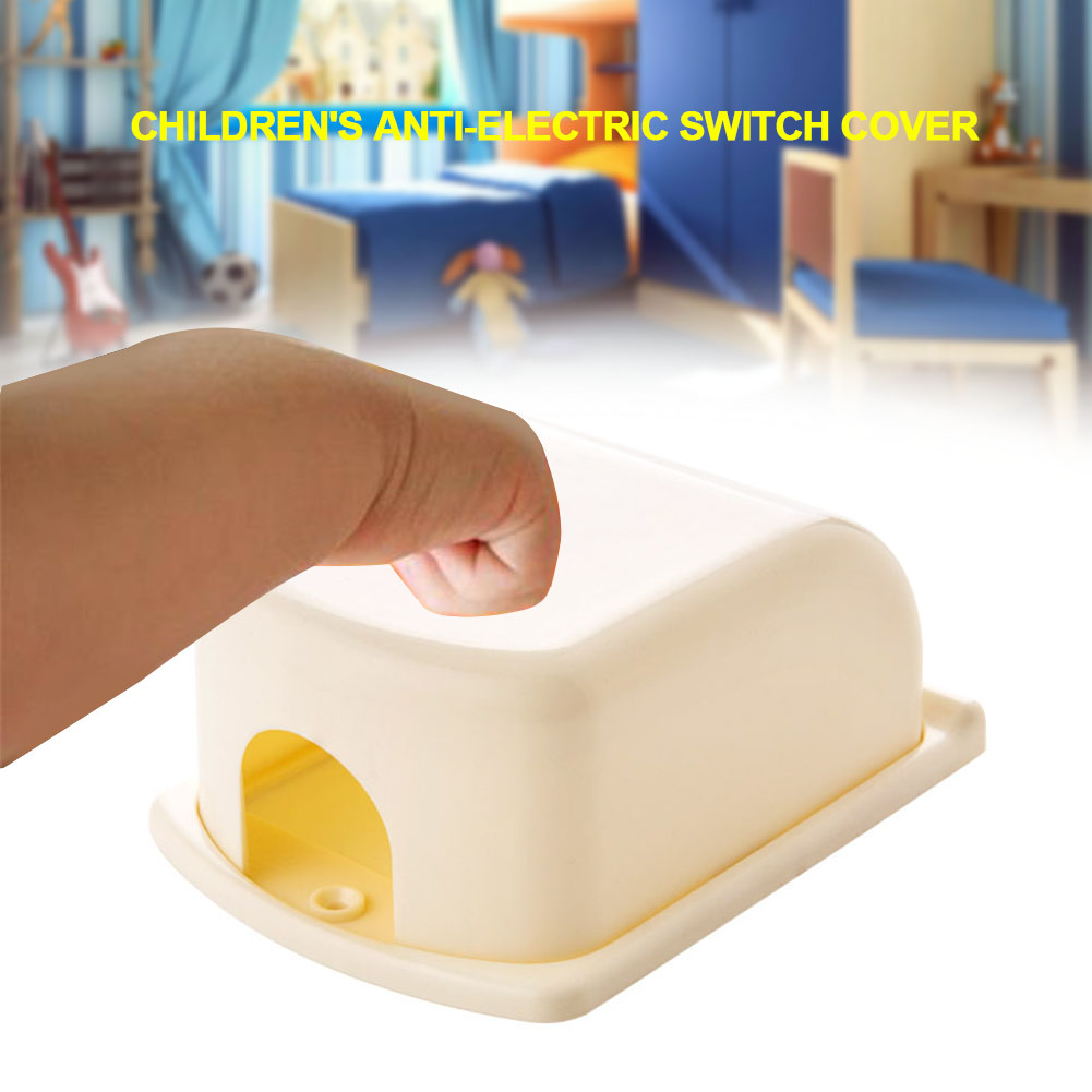 Electrical Equipment Protection Portable Anti-electric Shock Baby Children Lightweight Single Plug Universal Kid Switch Cover