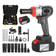 Wrench-Kit Battery-Speed Brushless-Drill Cordless Impact Quick-Chuck Fast-Charger Torque