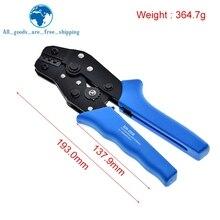 כחול SN 28B פין לחיצה כלי פחמן גבוה פלדה לחיצה Plier 2.54mm 3.96mm 28 18AWG מלחץ 0.1 1.0mm כיכר דופונט מלחץ כלי