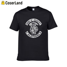 "Sons of an""tees TV SOA Cosplay Costume uomo Rock Punk taglie forti Mayans MC Steampuck top T shirt donna Dropshipping(China)"