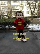 Monkey Mascot Costume Suit Cosplay Party Game Dress Outfit Advertising Halloween Advertising Gift Birthday Event Promotion advertising culture