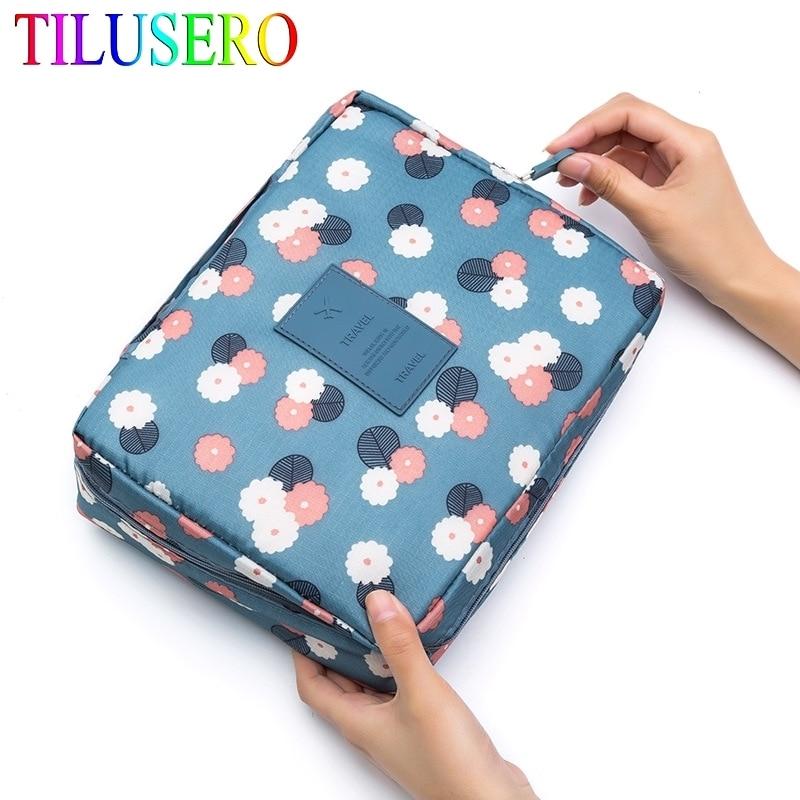 New Waterproof Wash Bag Cosmetic Bag Fashion Multi-function Oxford Travel Storage Makeup Bag