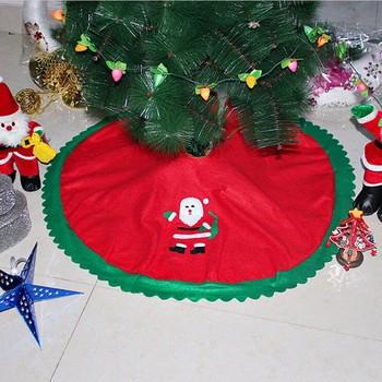 Ozdoby choinkowe ozdoby choinkowe kreatywne ozdoby choinkowe ozdoby bożonarodzeniowe ozdoby na choinkę tanie i dobre opinie CN (pochodzenie) Tkanina Santa Claus Tree Skirt Zhejiang China (Mainland) non-woven red as picture Chirstmas tree decoration