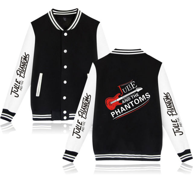 JULIE AND THE PHANTOMS THEMED BASEBALL JACKET (20 VARIAN)