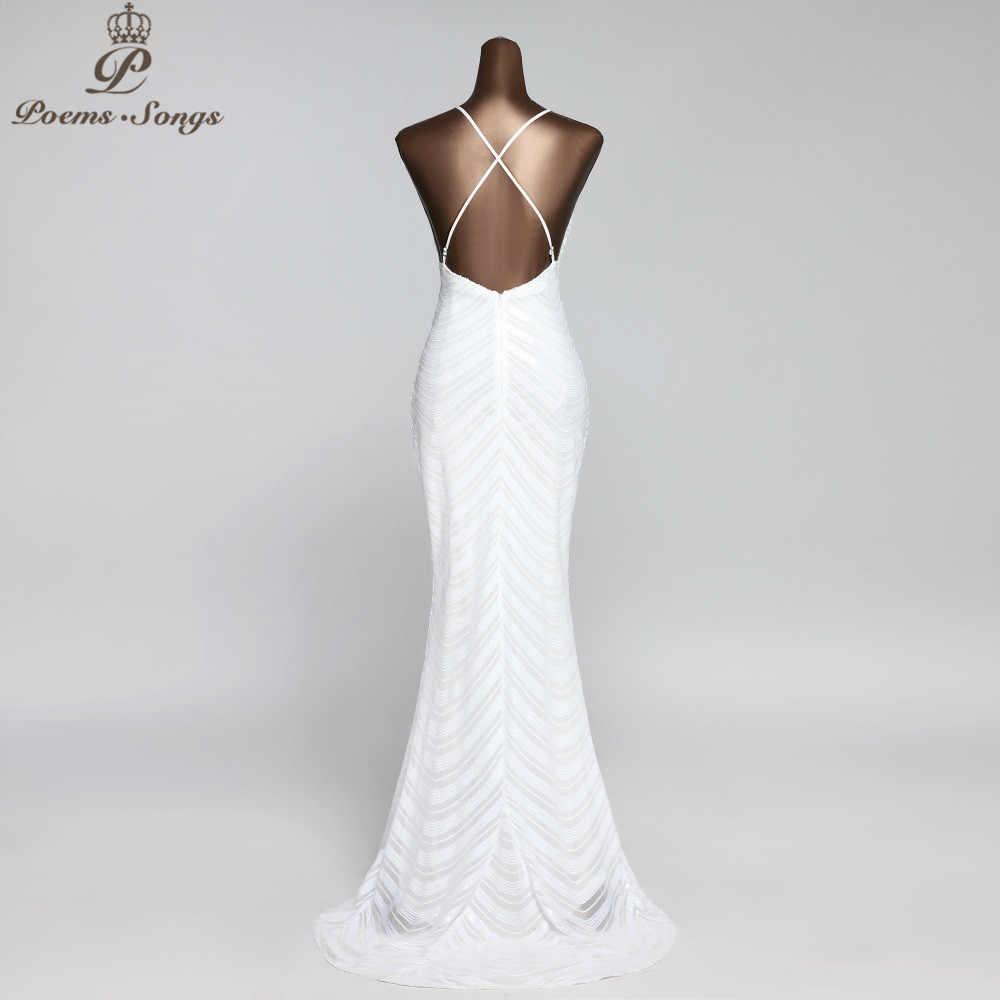 Permen Warna Gaya Baru Gaun Malam Putri Duyung Gaun Malam dengan Seksi Menyeberangi Tali Backless Vestidos De Fiesta De Noche