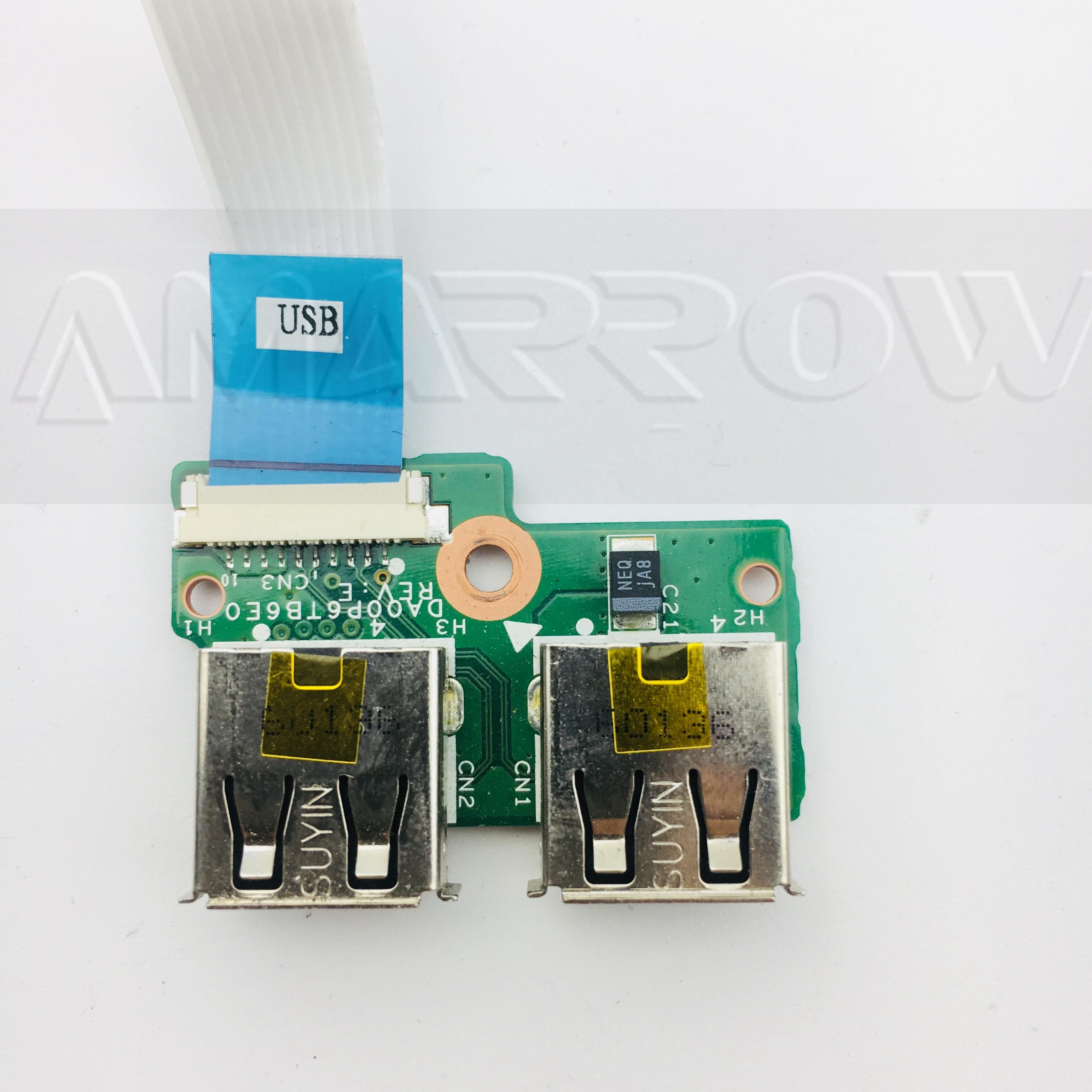 Original Free Shipping For HP CQ61 CQ71 USB Board 340P6UB0000 DA00P6TB6E0 Cable 14cm Or 16cm
