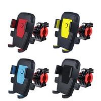 Soporte de bicicleta y motocicleta para teléfono móvil, Clip de Motor de manillar de bicicleta, con bloqueo automático, GPS