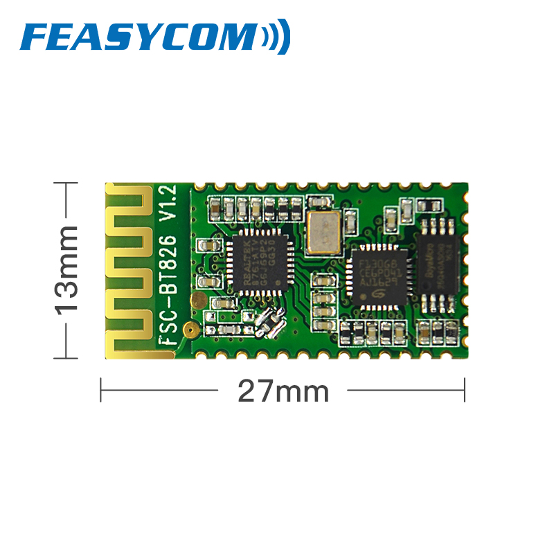 Bluetooth High Speed Serial Port Pass-through SPP BLE 4.2 Dual-mode Master-Slave Universal Data Transfer Module Supports HID