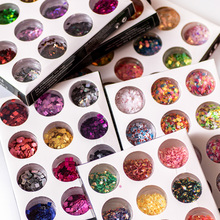 12 Box/Set Nails Paillette Nail Art Glitter Powder Sequins Mixed Mermaid Manicure Rhinestones For 3d Decorations