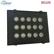 Dc12v cctv камера ИК заполняющий светильник 15 шт светодиоды