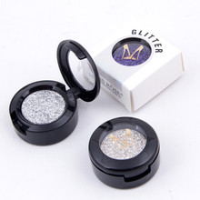 Marke Glitters Einzelne Lidschatten Diamant Regenbogen Machen Up Kosmetische Gedrückt Glitter Lidschatten Palette 24 Farben heißer verkauf