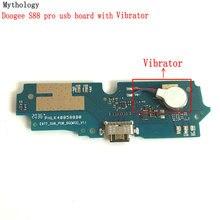 """Mitolojisinde Doogee S88 Pro USB kartı ve vibratör Flex kablo yuva konnektörü 6.3 """"cep telefonu şarj devreleri"""