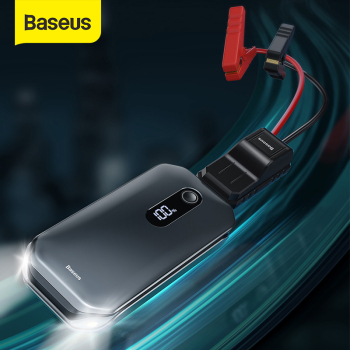 Baseus Car Jump Starter 12000mah 1000A Portable Emergency Starter Power Bank 12V Auto Booster Starting Device Battery for car baseus 8000a car jump starter battery power bank high capacity starting device booster auto vehicle emergency battery booster