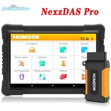 Humzor NexzDAS Pro OBD2 Auto Scanner Diagnose Werkzeug für ABS Airbag SAS Öl DPF EPB Reset IMMO TPMS Automotive Scanner PK Nexpeak