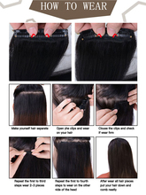 Human Straight Hair Extensions