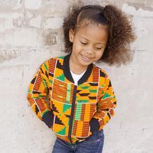 Куртки для маленьких девочек и мальчиков; ветрозащитное пальто с длинными рукавами в африканском стиле; теплая верхняя одежда; куртка; коллекция года; сезон осень-зима; детская теплая одежда; пальто