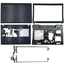 Новая задняя крышка для ноутбука Lenovo IdeaPad G580 G585/Передняя панель/петли/Упор для рук/нижний корпус AP0N2000410 AP0N2000324 AP0N2000100