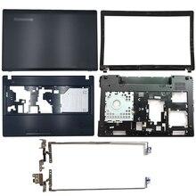 NEW For Lenovo IdeaPad G580 G585 Laptop Back Cover/Front Bezel/Hinges/Palmrest/Bottom Case AP0N2000410 AP0N2000324 AP0N2000100