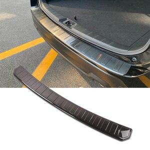1 шт., автомобильные аксессуары, Задняя накладка для Subaru Forester SK 2019, Внешняя защита заднего бампера из нержавеющей стали, накладка