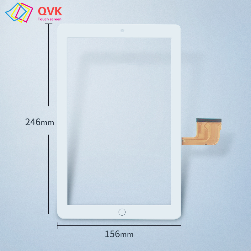 White touch screen 10.1 Inch ZY-206 / ZY-10.0-206 P10 Tablet PC touch screen panel repair replacement parts